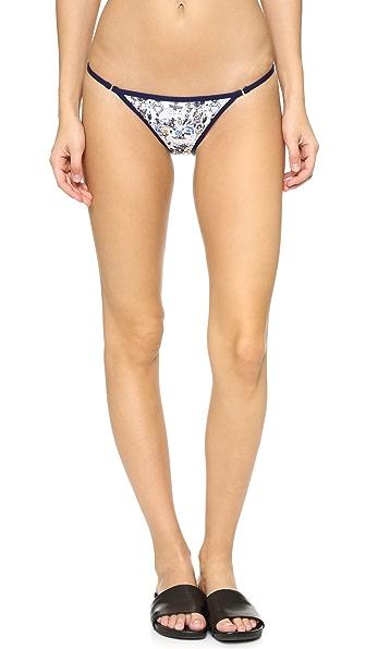 KORE SWIM Joana Avillez x KORE SWIM Bikini Bottoms - JxK Print/Navy