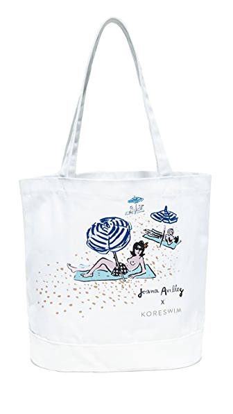 KORE SWIM Canvas Tote Bag