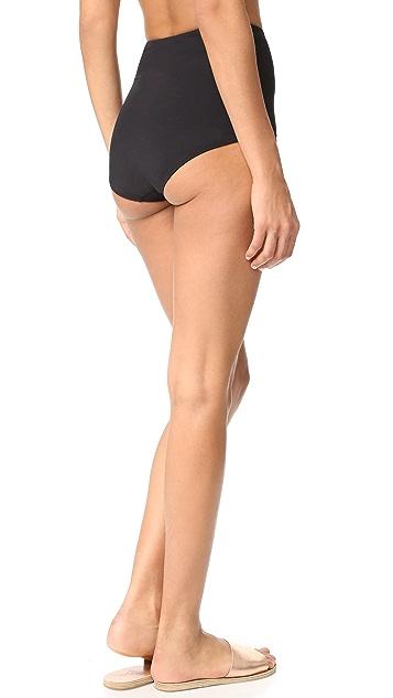 KORE SWIM Electra High Waist Bikini Bottoms