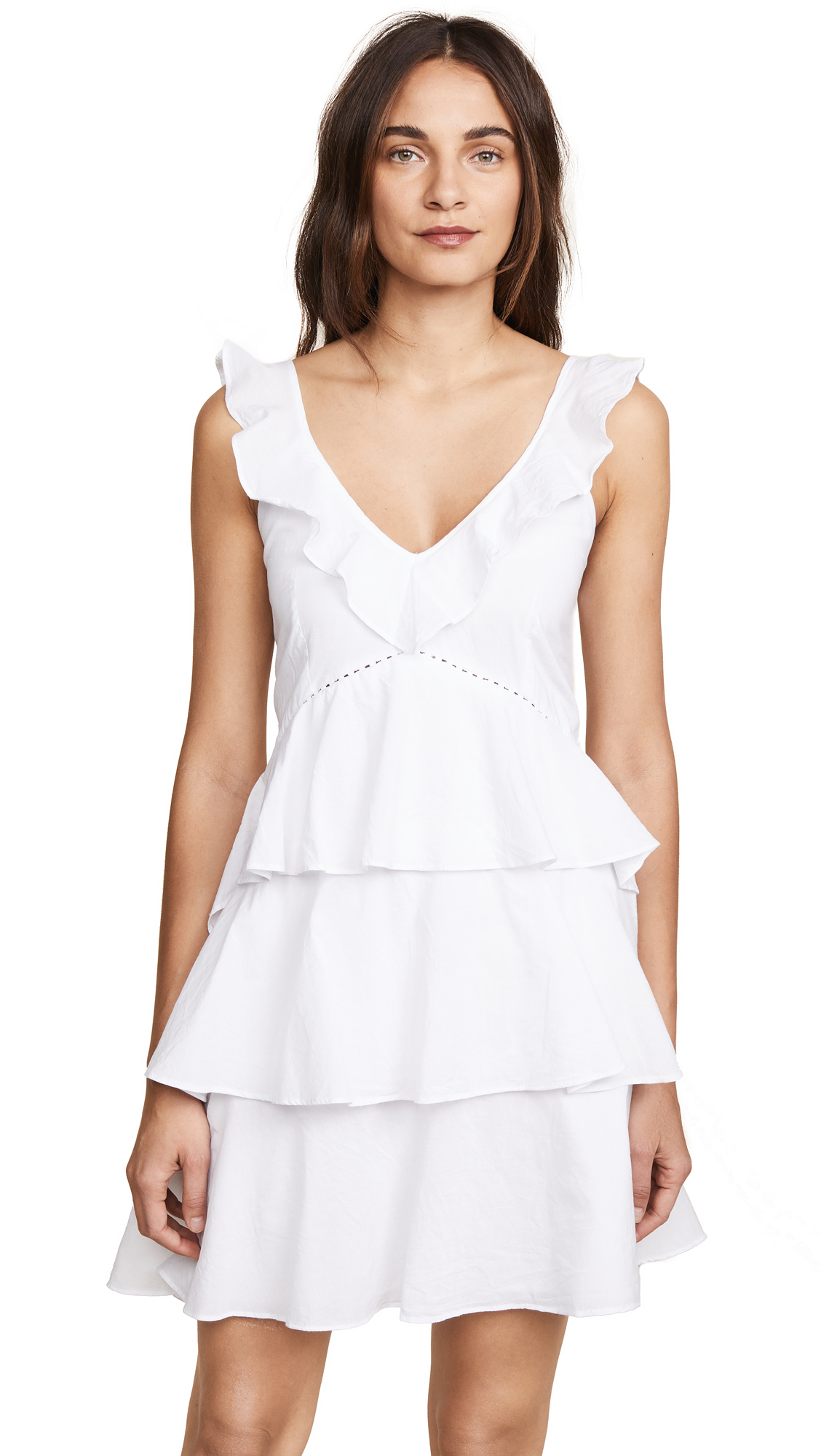Kos Resort Tiered Mini Dress