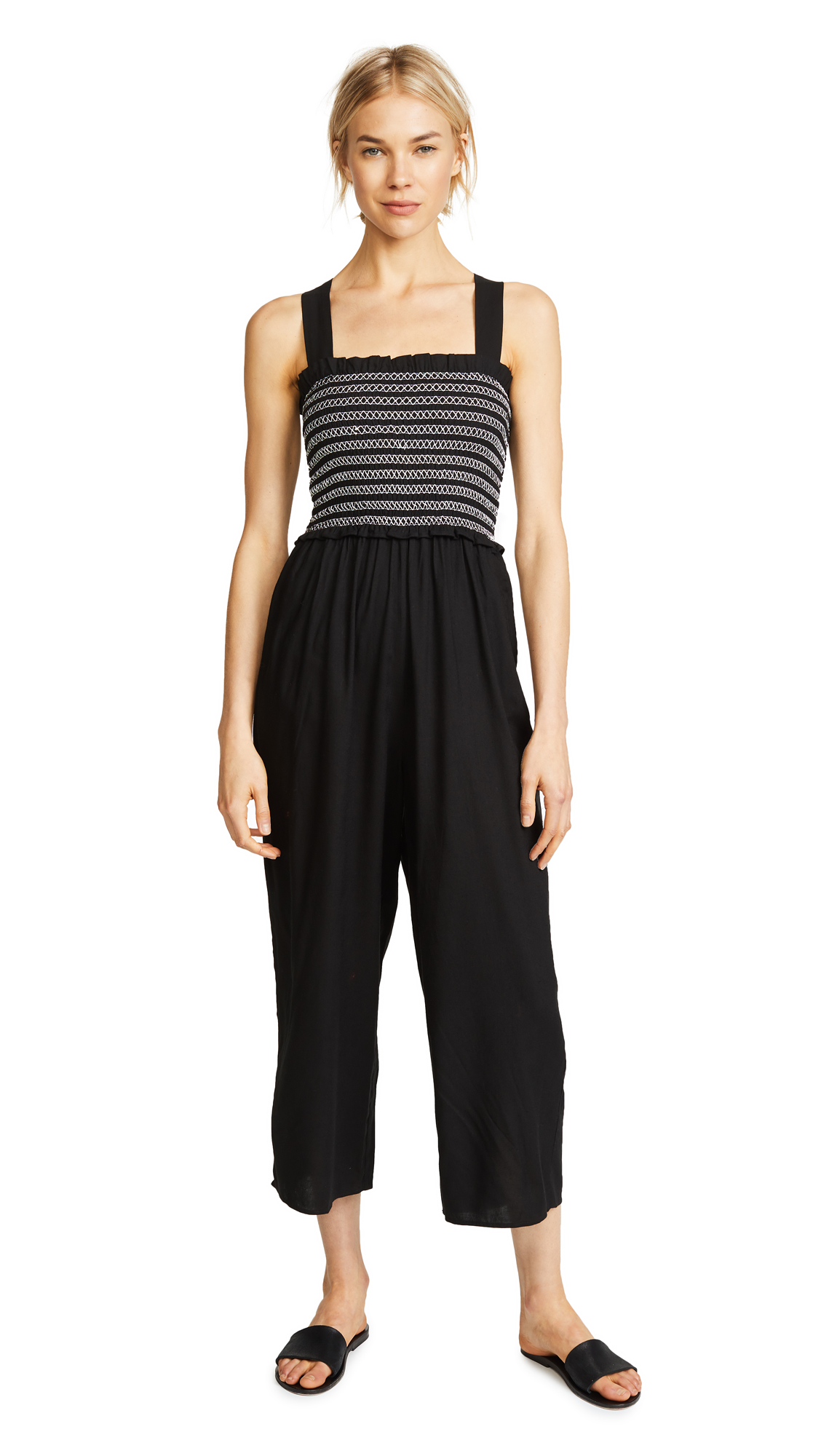 KOS RESORT CROPPED JUMPSUIT