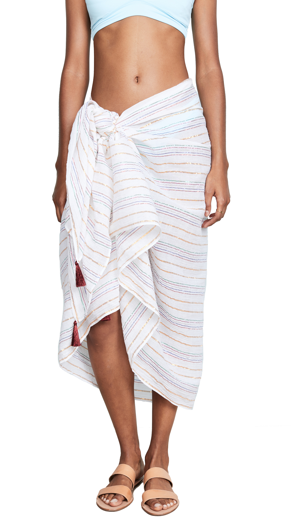 KOS RESORT RAINBOW STRIPE SARONG