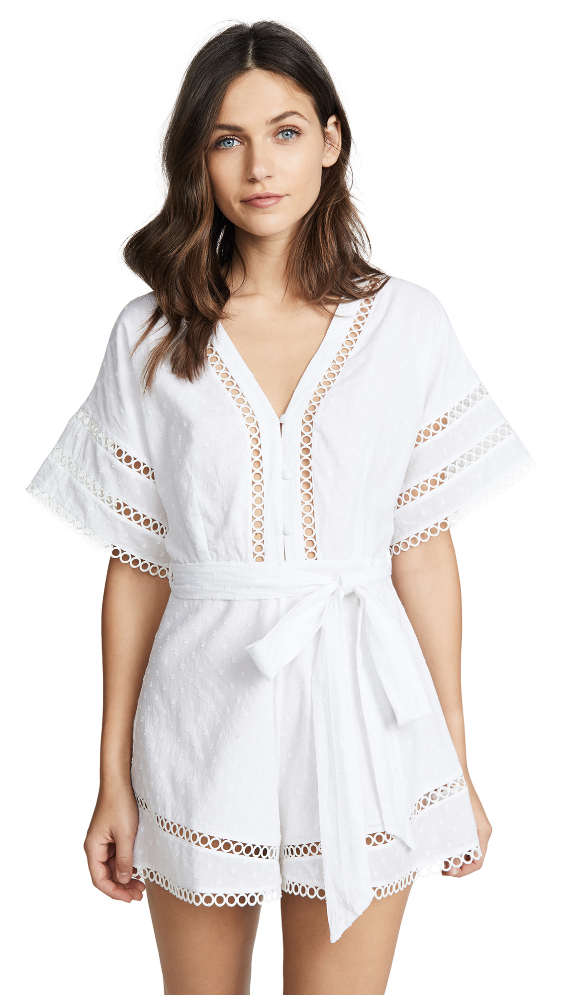 KOS RESORT SHORT SLEEVE ROMPER