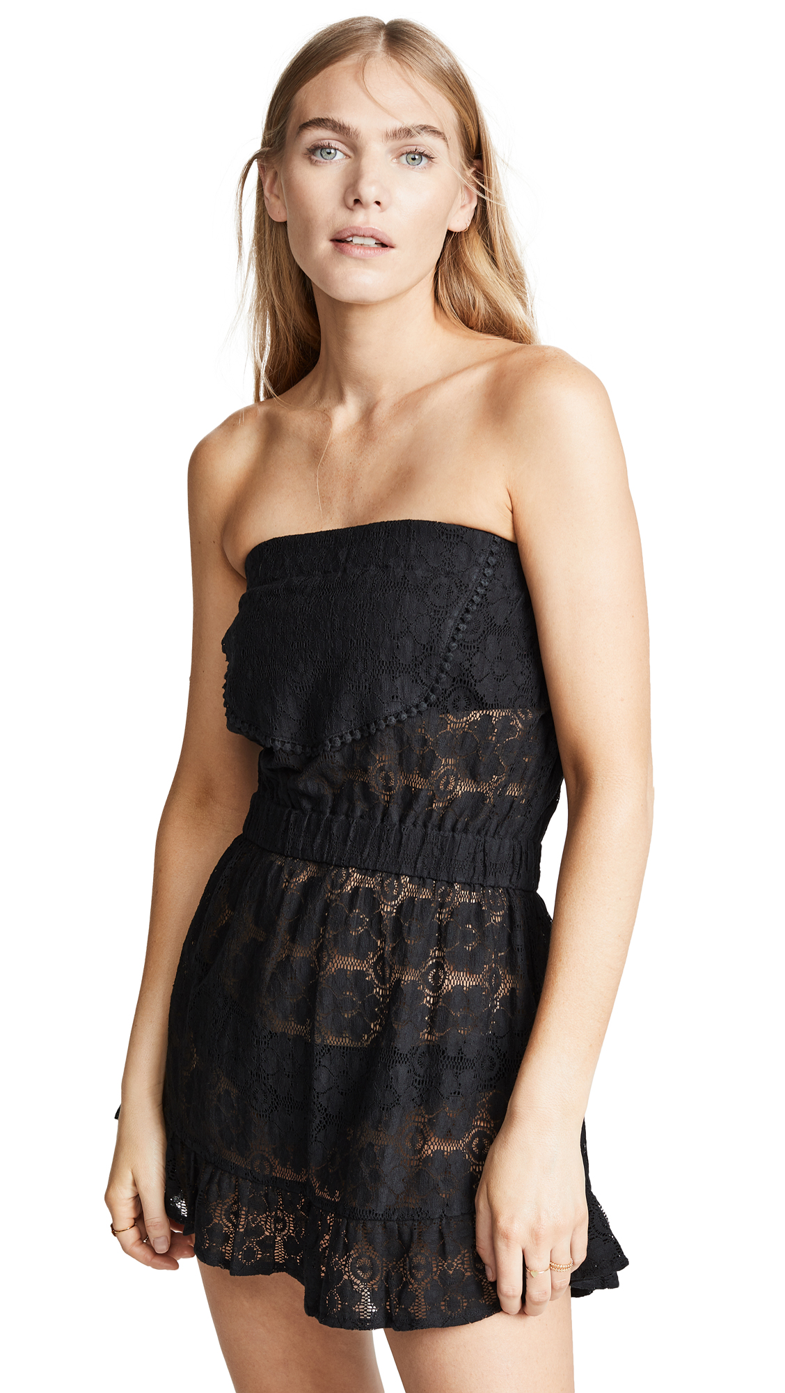 Kos Resort Strapless Lace Cover Up Dress Shopbop Save Up