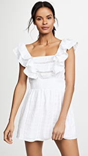 Kos Resort White Eyelet Dress