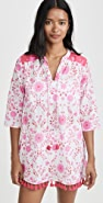 Kos Resort Floral Tunic Dress