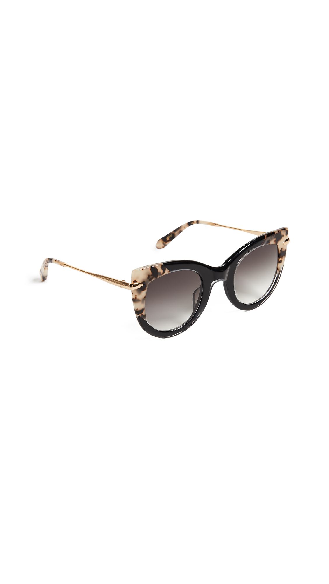 Krewe Laveau Sunglasses In Black/Oyster