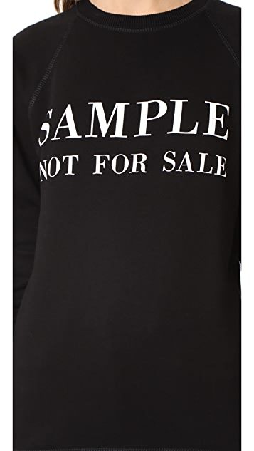 Ksenia Schnaider Sample Not For Sale Sweatshirt