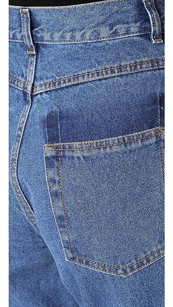 Ksenia Schnaider Dark Blue Demi Jeans