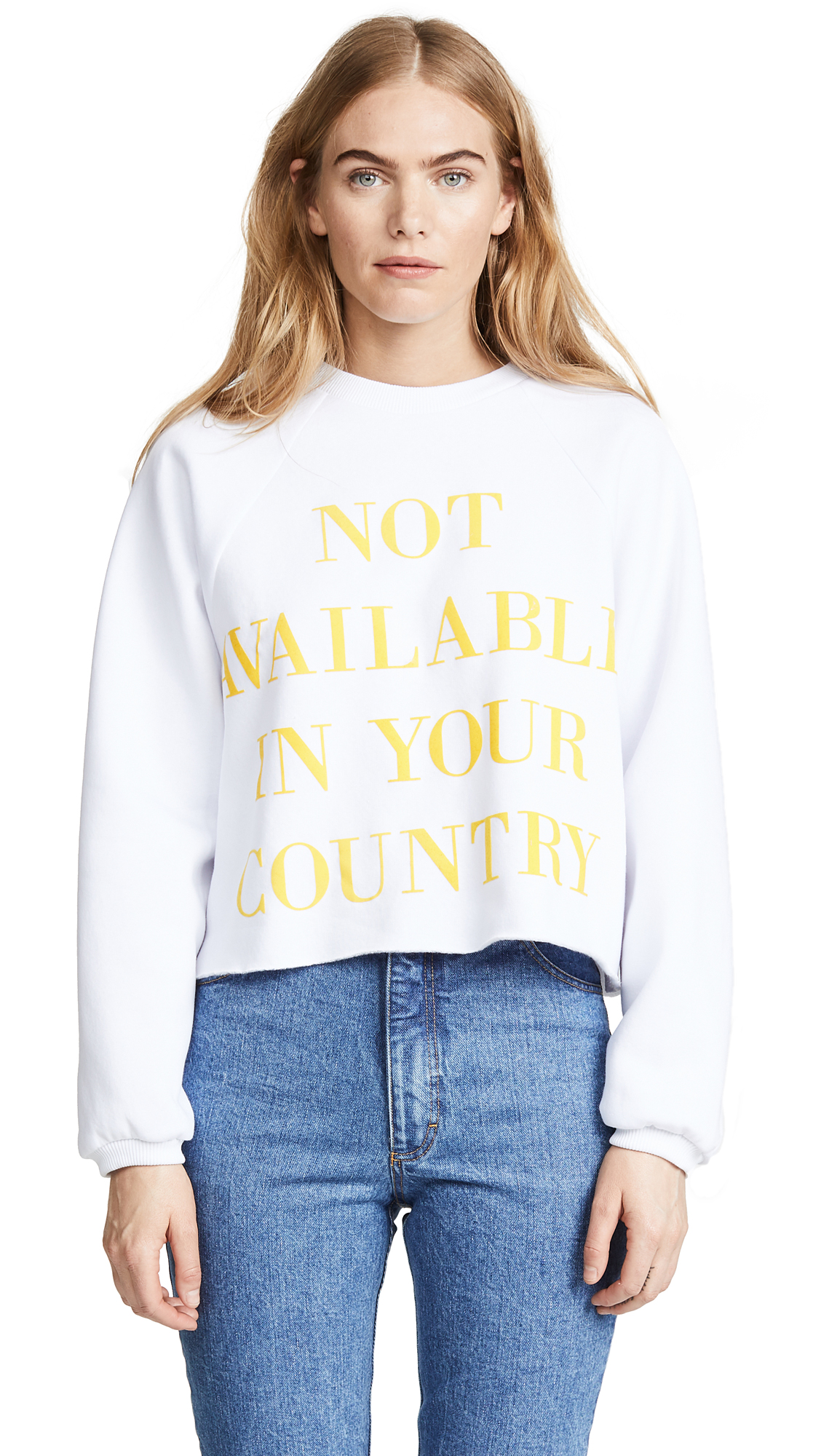 Ksenia Schnaider Not Available Sweatshirt In Yellow Print