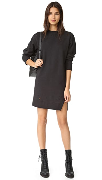 Ksubi Sidewalk Sweatshirt Dress