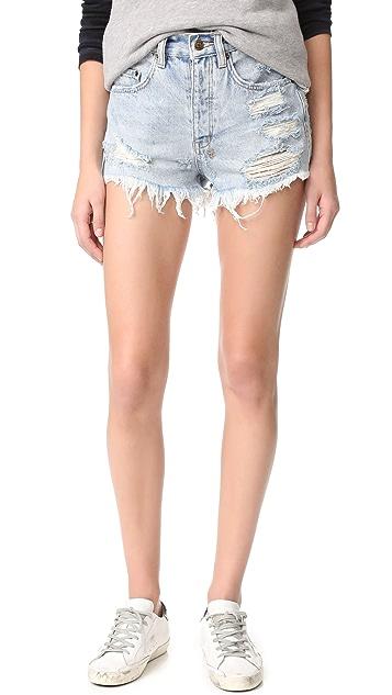 Ksubi Tongue N Cheek Shorts
