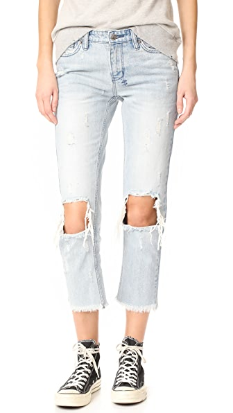 Ksubi Straight N Narrow Jeans