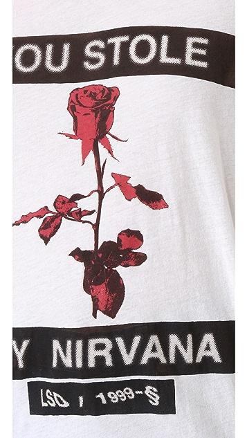 Ksubi Nirvana Rose Sheer Tee