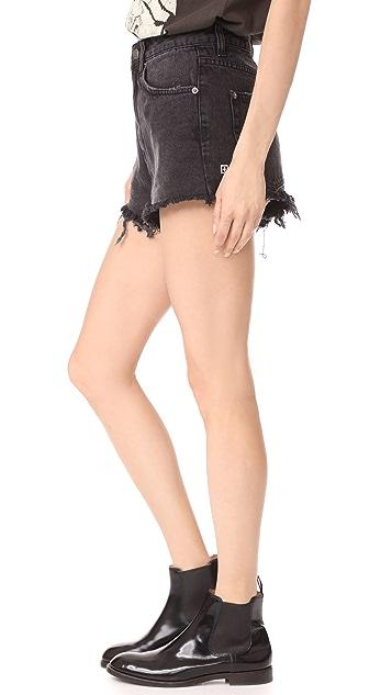 Ksubi Clas-Sick Cutoff Shorts