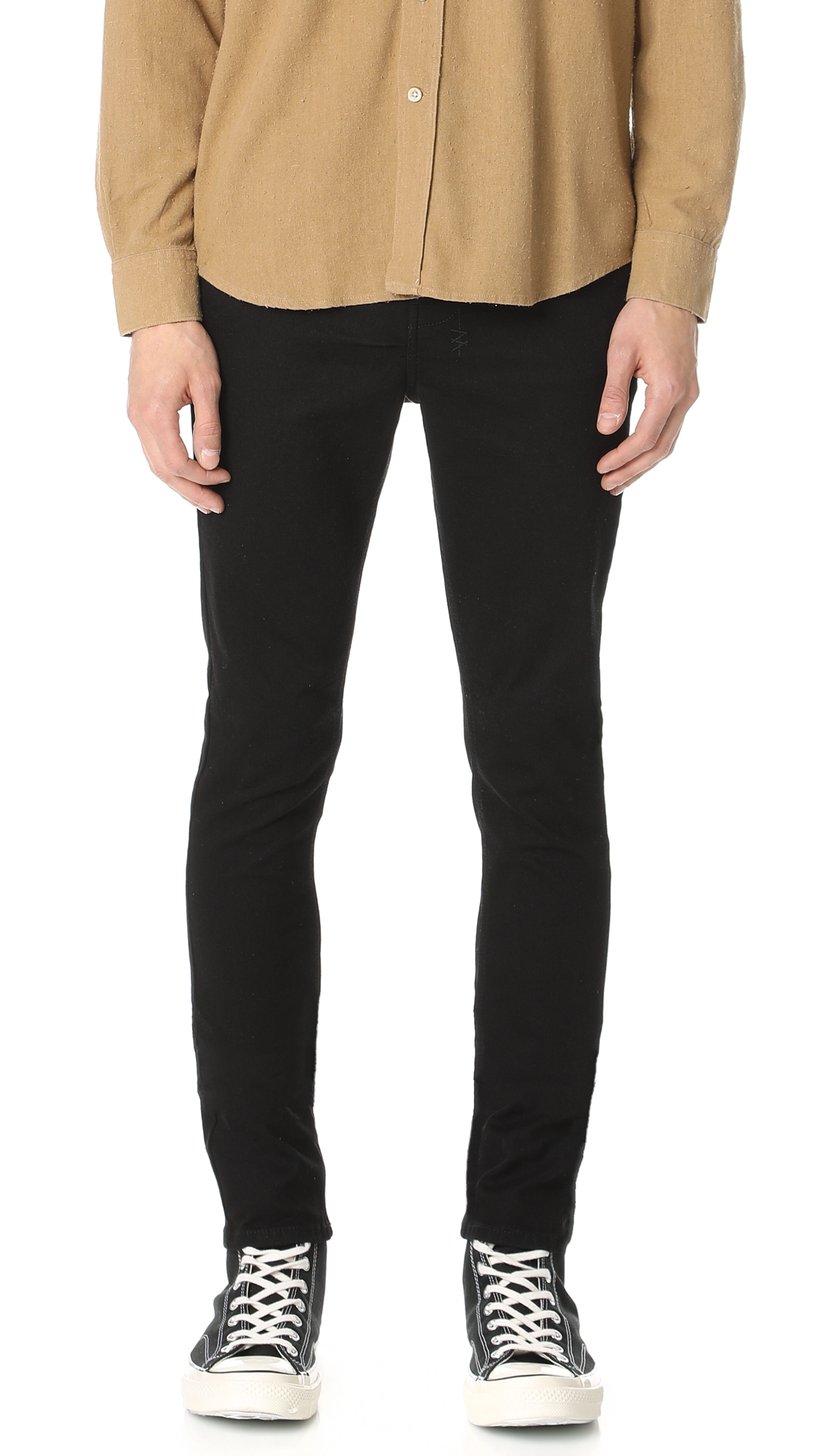 Chitch Laid Black Jeans