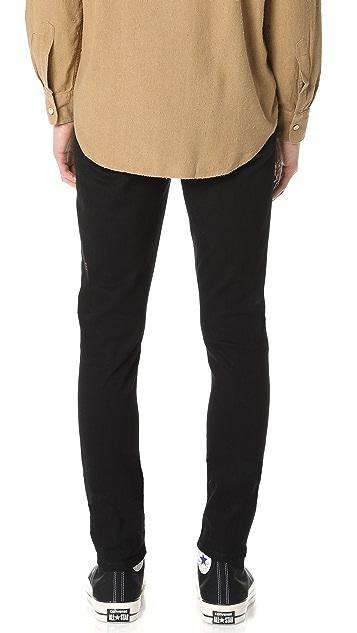 Ksubi Chitch Laid Black Jeans