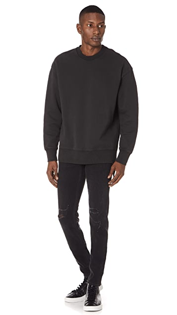 Ksubi Seeing Lines Crew Neck Sweatshirt