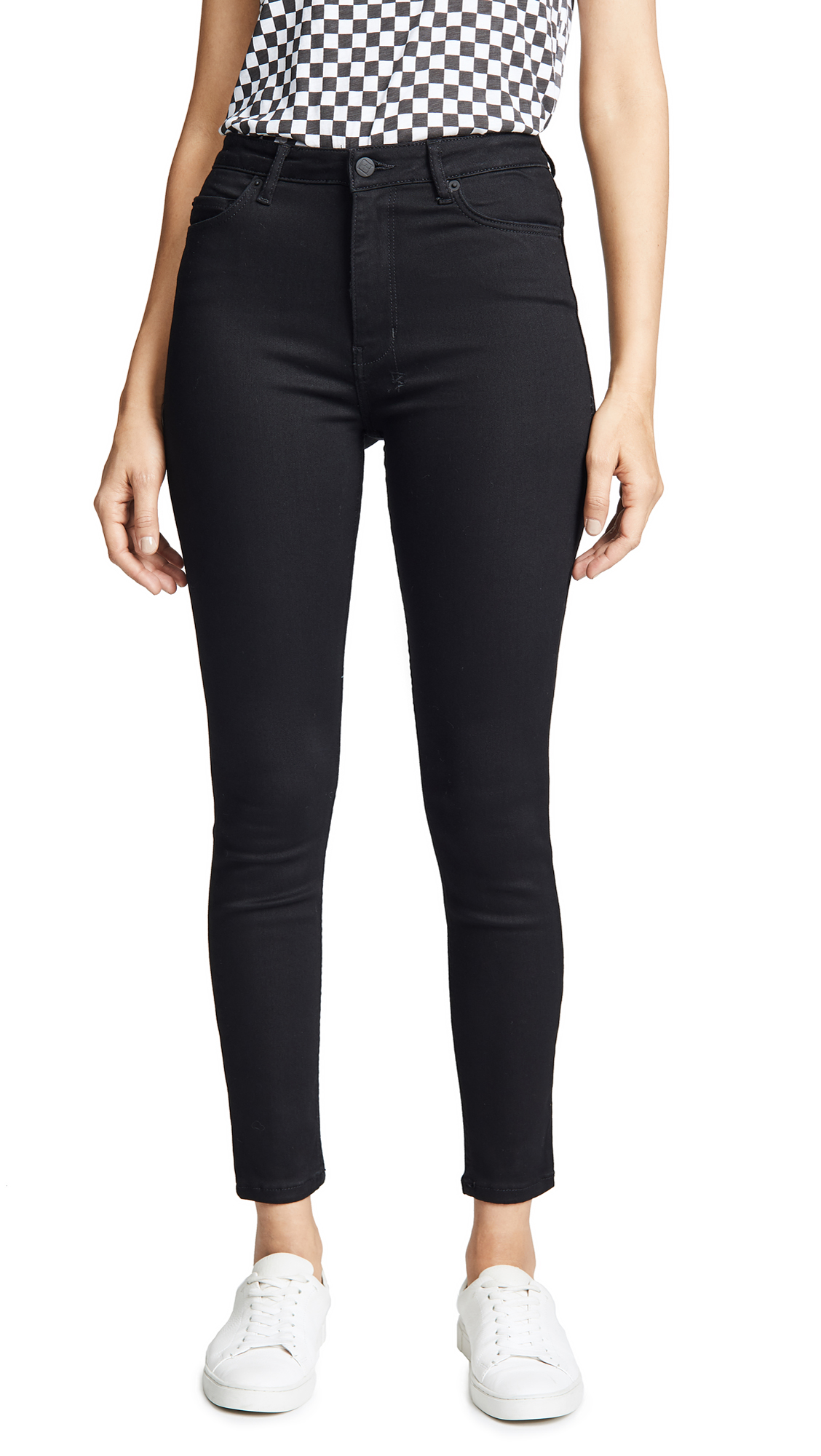 KSUBI Hi & Wasted Skinny Jeans in Black