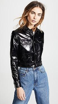 Ksubi A2B Patent Leather Jacket
