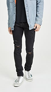 Ksubi Chitch Concrete Distressed Jeans