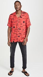 Ksubi You Have Been Warned Resort Shirt Nitro