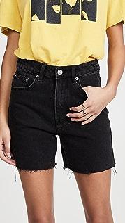 Ksubi Racer Noir Shorts