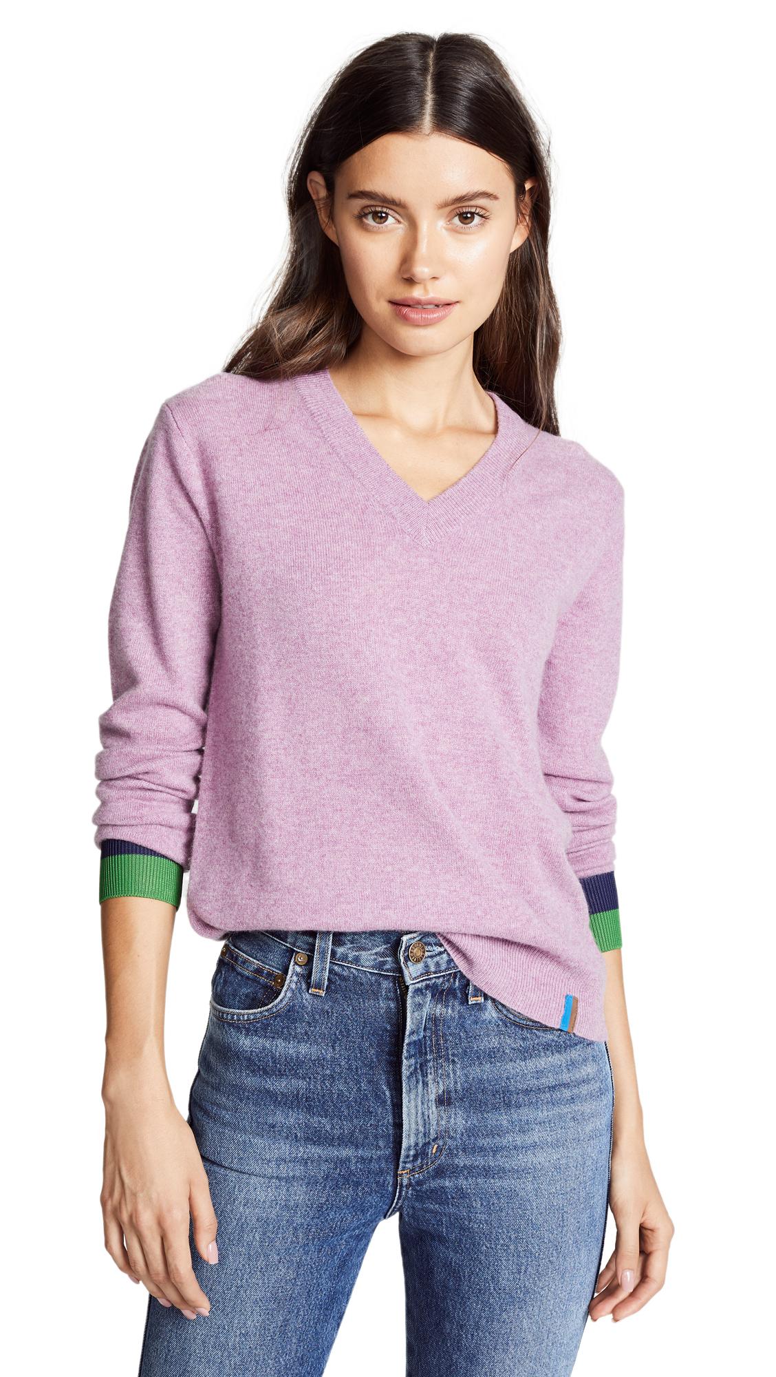 The Sawyer Cashmere Sweater, Berry
