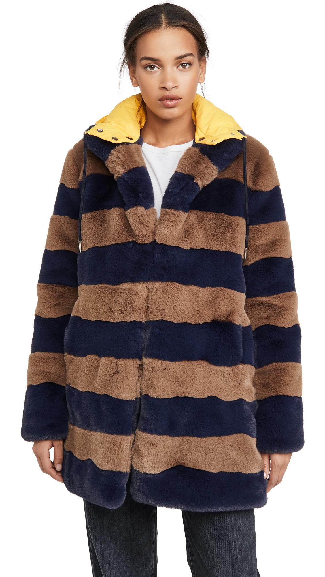 Buy KULE online - photo of KULE Hooded Blythe Coat