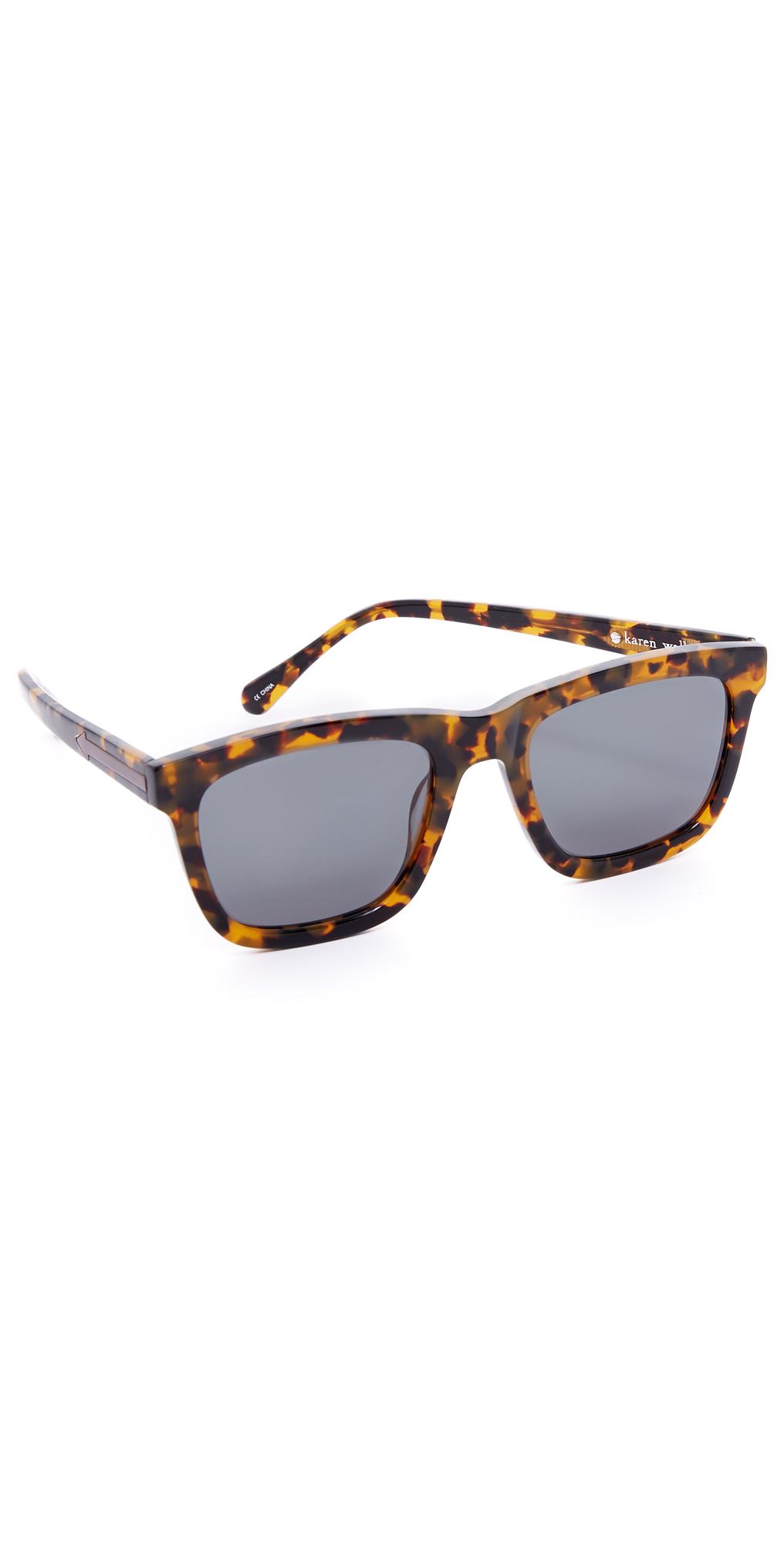 SFX Replacement Sunglass Lenses fits Karen Walker Deep Freeze 54mm Wide  Sunglasses & Eyewear Accessories Men