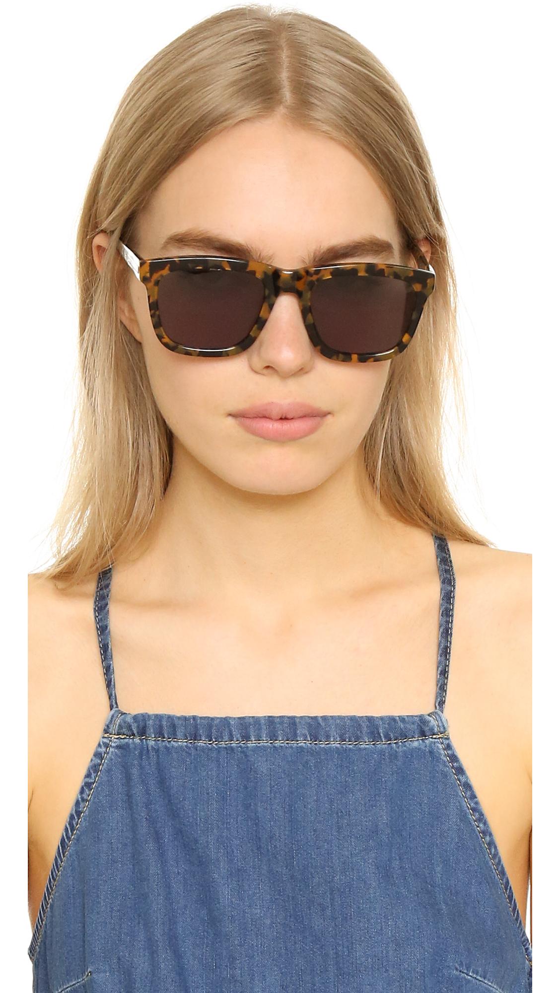 a7c790df52e0 Karen Walker Deep Freeze Sunglasses