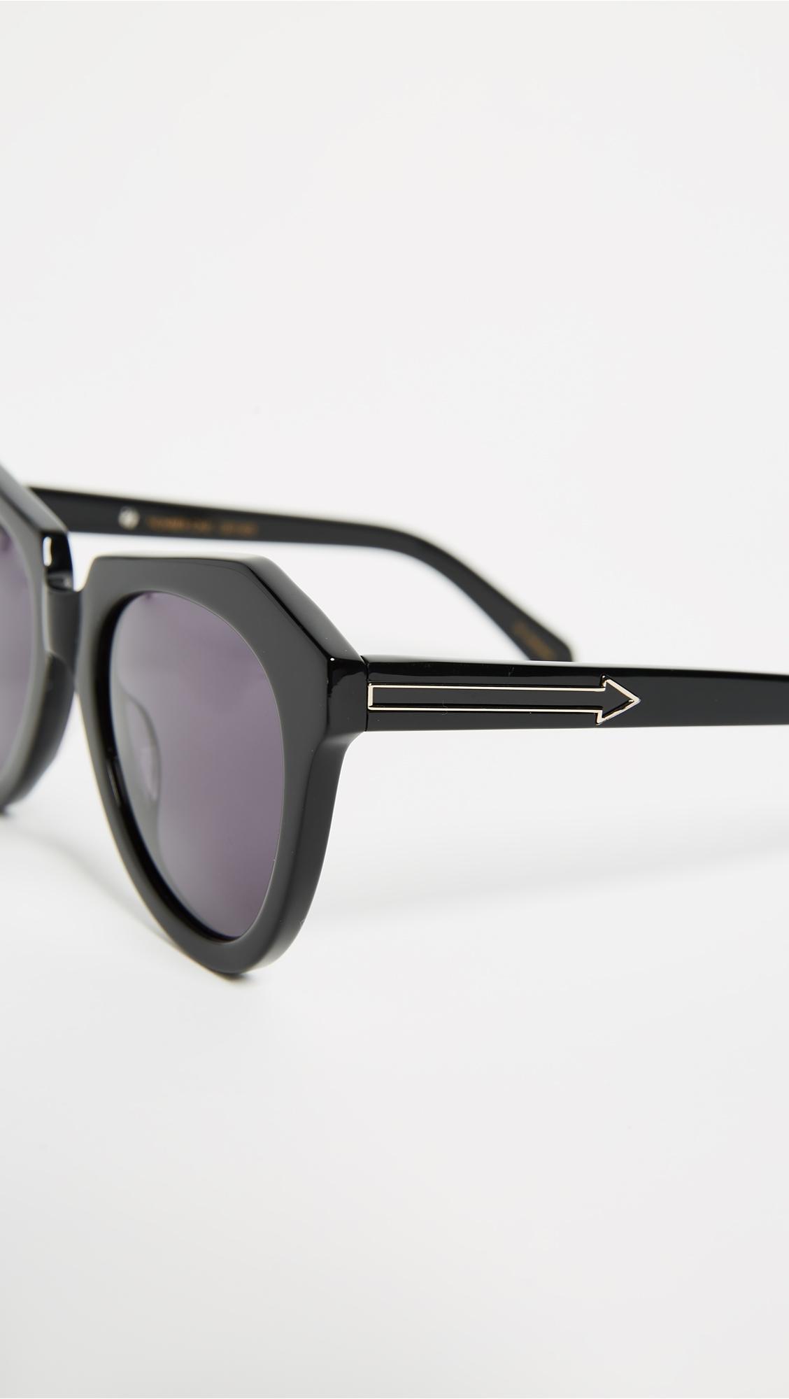 Солнцезащитные очки Number One Karen Walker  (KWALK4005852250314)