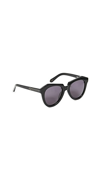 Karen Walker Number One Sunglasses at Shopbop