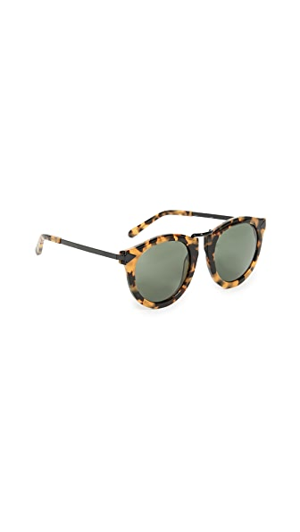 Karen Walker Harvest Sunglasses at Shopbop