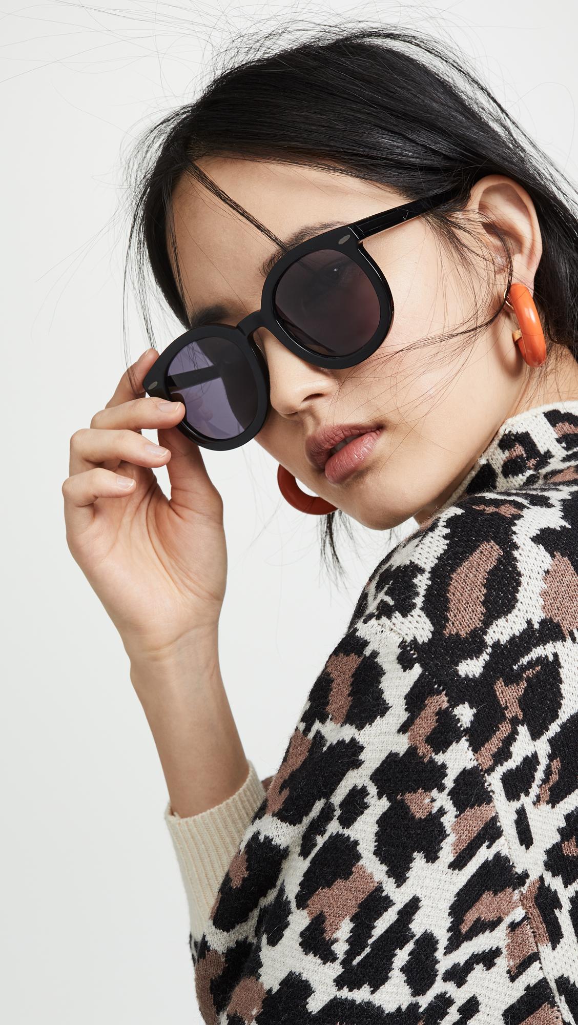 391d127349c Karen Walker Alternative Fit Super Duper Strength Sunglasses