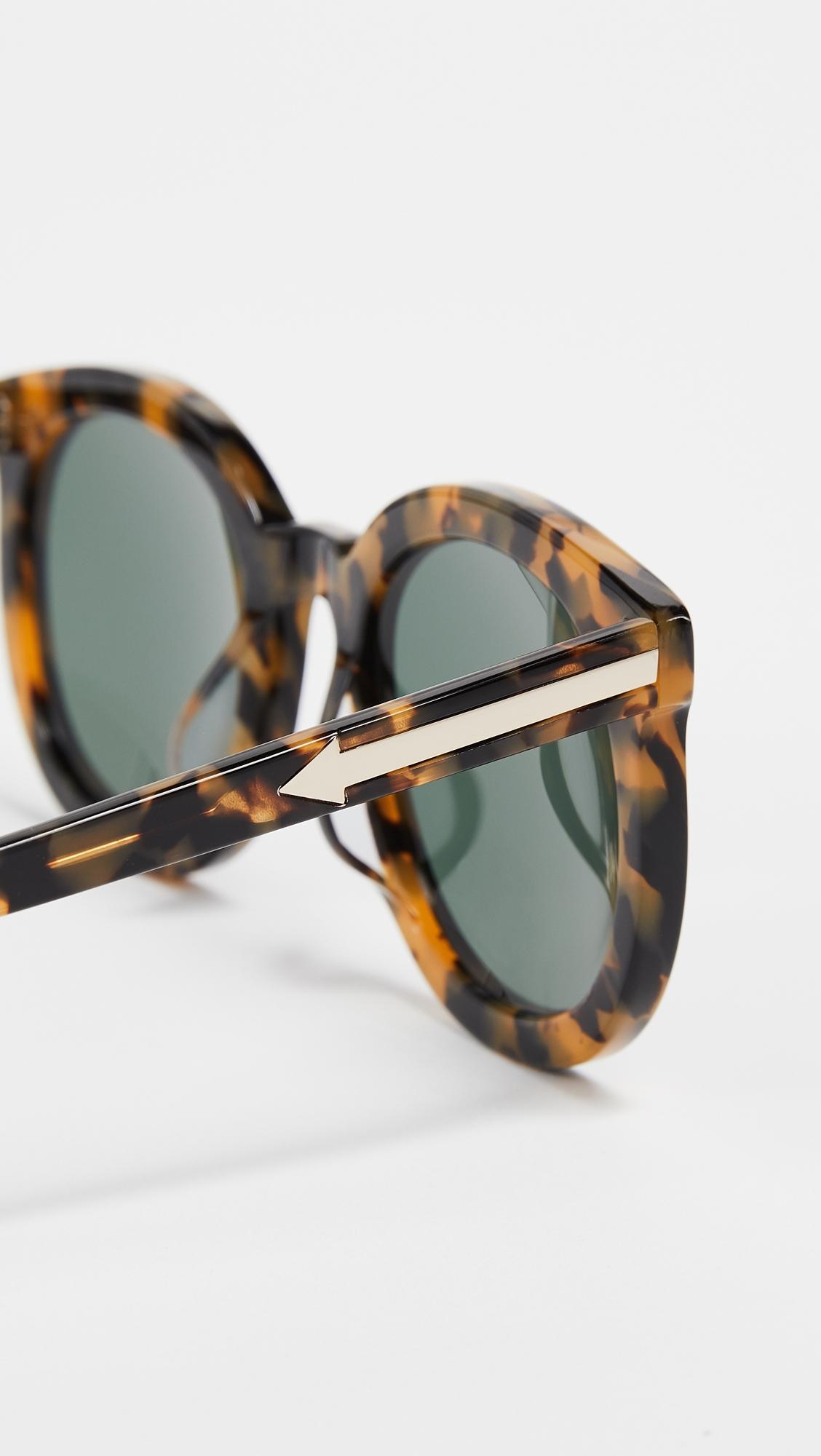 Солнцезащитные очки Super Duper Strength Karen Walker  (KWALK4009966156314)