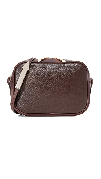 Karen Walker Lana Cross Body Bag - Oxblood