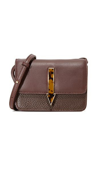 Karen Walker Milly Cross Body Bag - Oxblood
