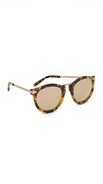 Karen Walker Harvest Superstar Sunglasses