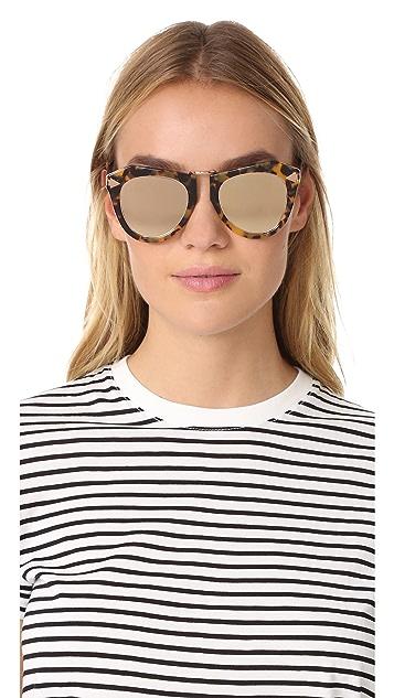 Karen Walker One Orbit Superstar Sunglasses