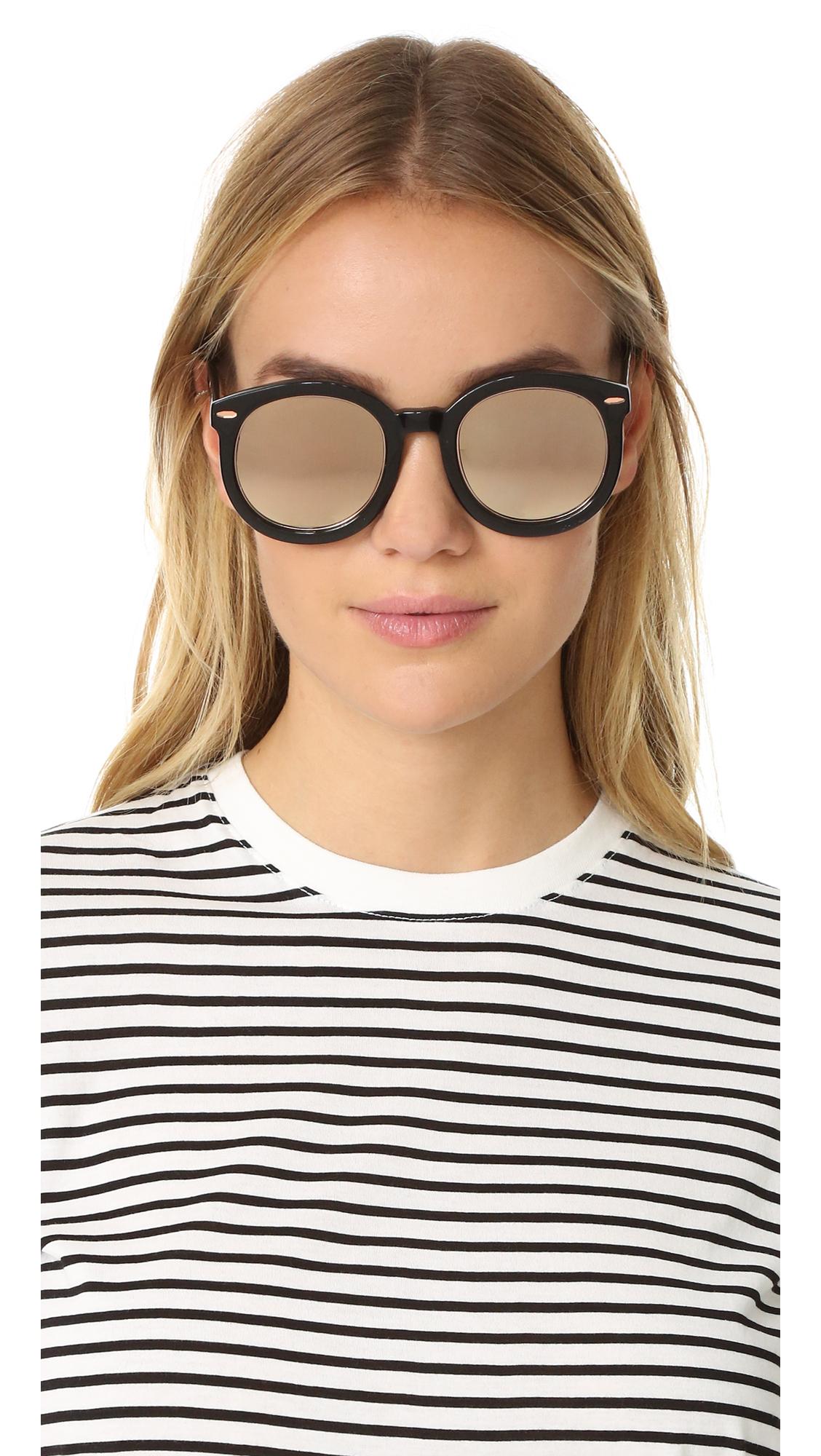 c134d0fcaec Karen Walker Super Duper Superstar Sunglasses