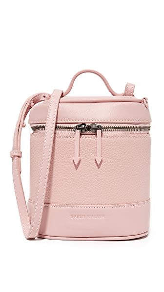 Karen Walker Britt Cross Body Bag - Blush