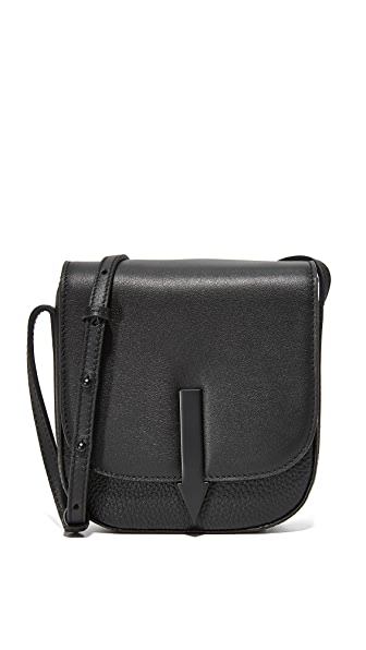 Karen Walker Minnie Bonnie Saddle Bag - Black