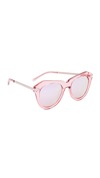 Karen Walker One Star Sunglasses at Shopbop