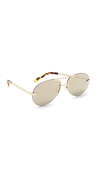 Karen Walker Love Hangover Sunglasses - Crazy Tort/Gold