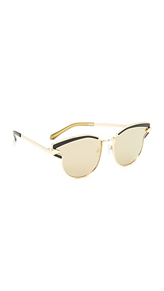 Karen Walker Superstars Felipe Sunglasses