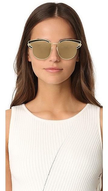 Karen Walker Superstars Felipe Sunglasses