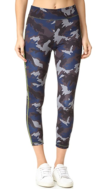 LAAIN Camo Cropped Leggings