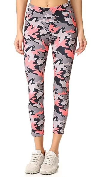 LAAIN Dasha 3/4 Leggings - Camo Print