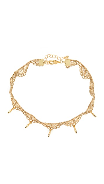 Lacey Ryan Golden Triangle Choker Necklace
